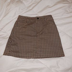 Forever 21 Skirts - forever 21 plaid gingham skir
